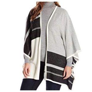 NYDJ Cotton/Cashmere Blend Open Cardigan